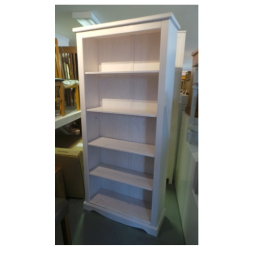 Corona White Bookcase